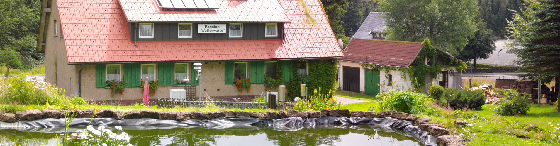 Ferienhaus auf dem Rennsteig